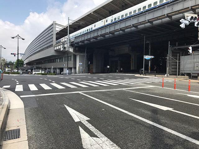 京都駅八条交差点