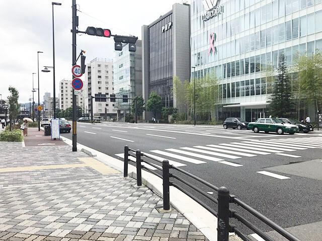 京都駅八条油小路交差点