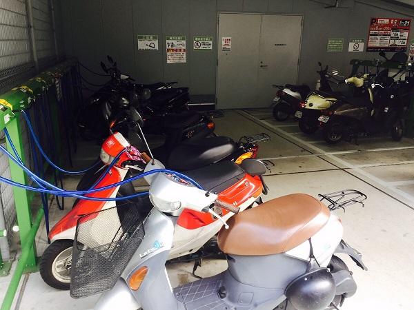 京都ヨドバシ駐輪場バイク料金