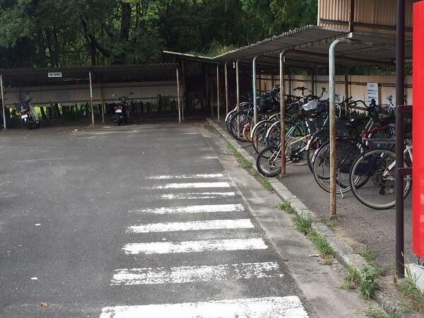 京都府立植物園駐輪場