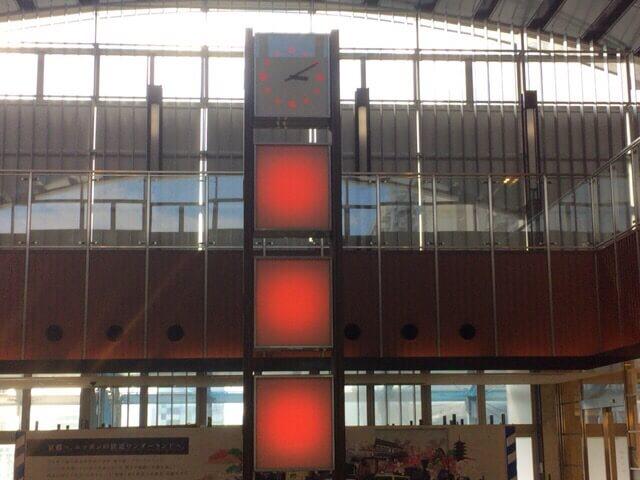 京都駅時の灯