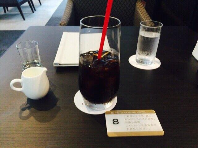 グランジュールアイスコーヒー