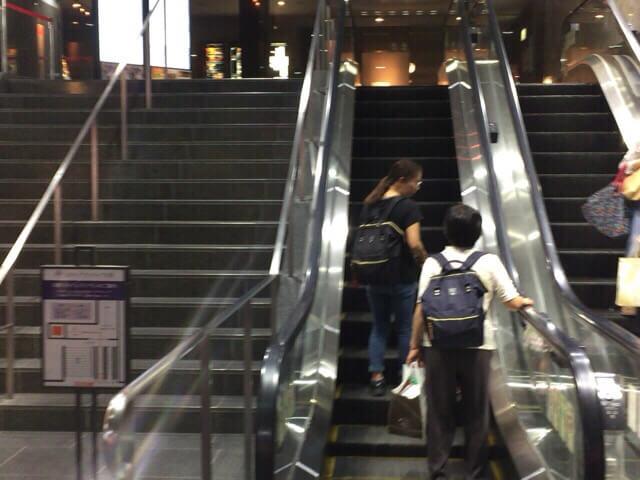 グランヴィア京都階段