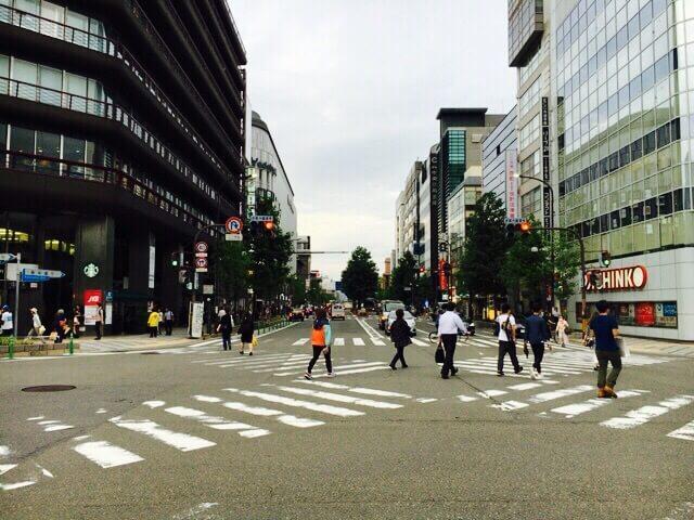 京都ヨドバシカメラ駐車場入口