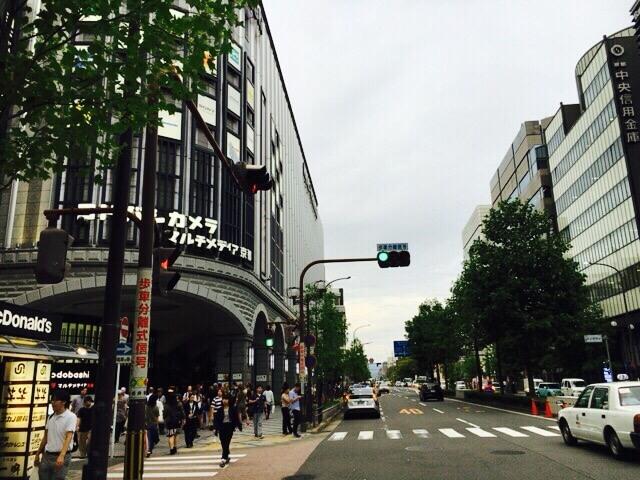 京都ヨドバシカメラ外観