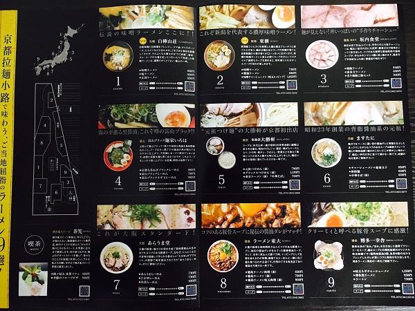 京都ラーメン小路店舗