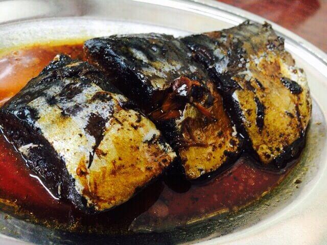 今井食堂鯖