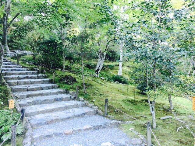 天龍寺曹源池庭園