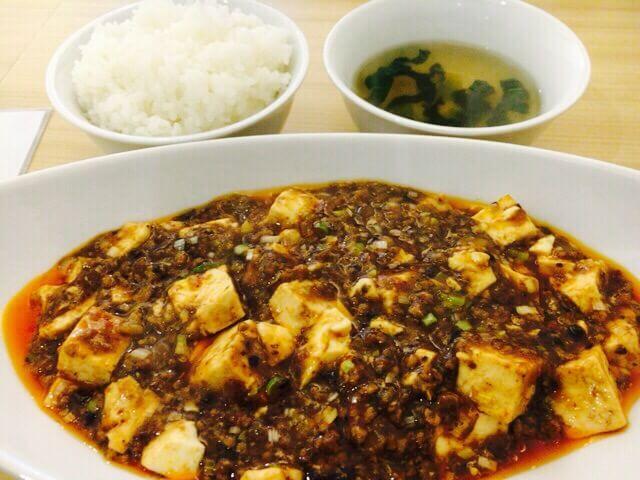 中国料理 菜格麻婆豆腐