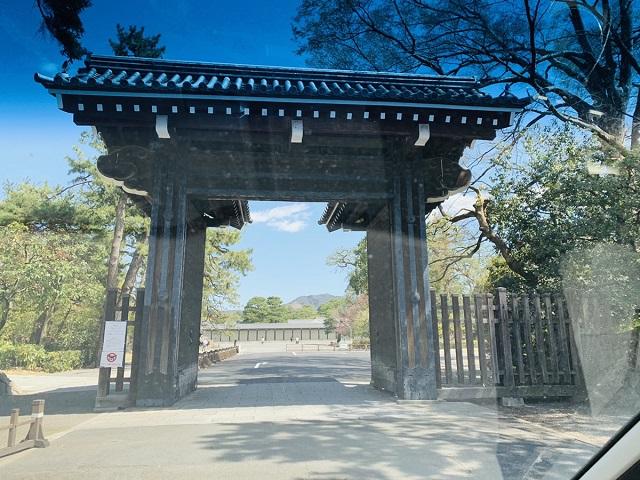 京都御所中立売御門