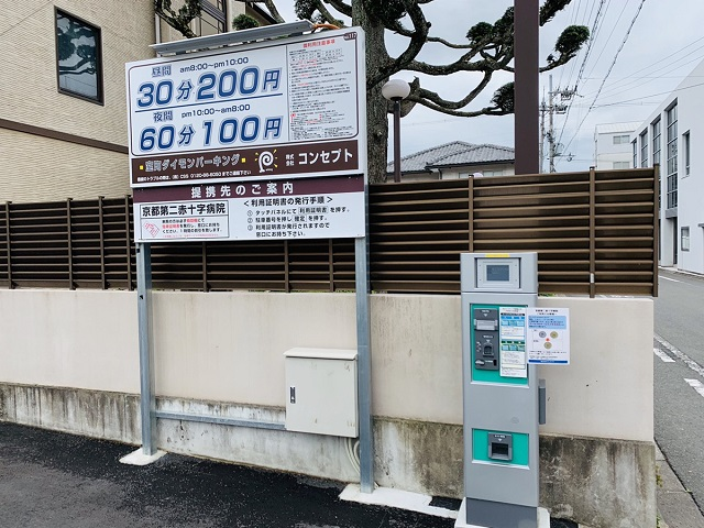 京都つゆしゃぶCHIRIRI本店近隣駐車場