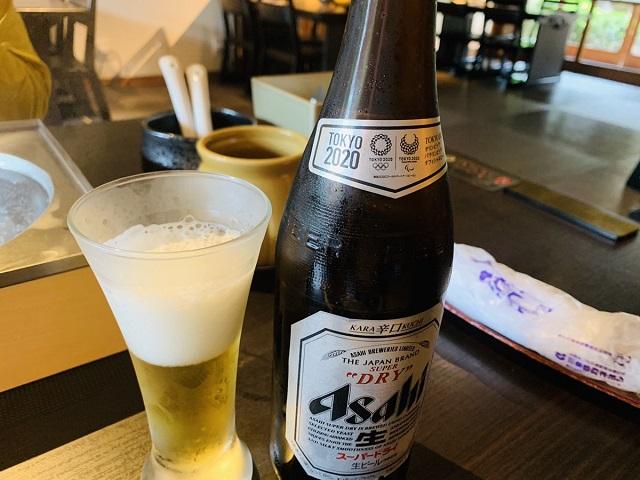京都つゆしゃぶCHIRIRI本店ビール