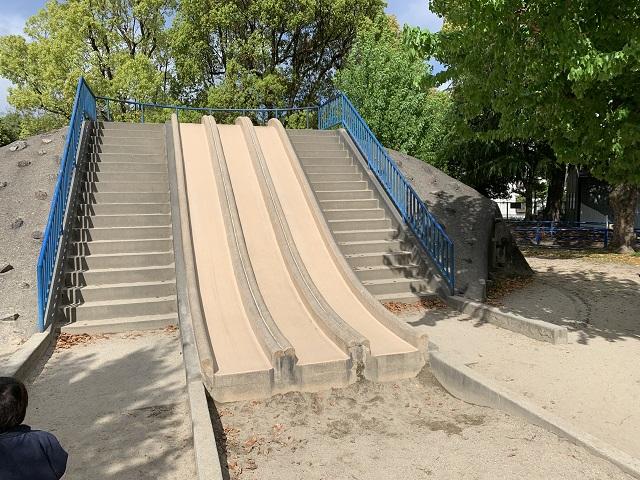 大宮交通公園滑り台