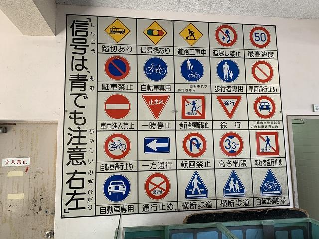 大宮交通公園標識