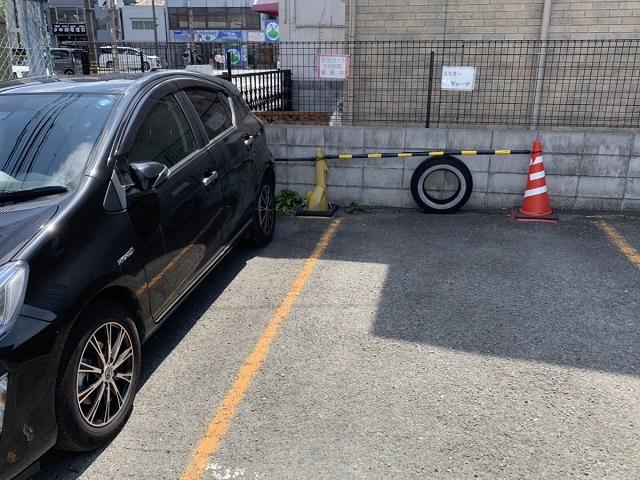 ミスター・ギョーザ専用駐車場