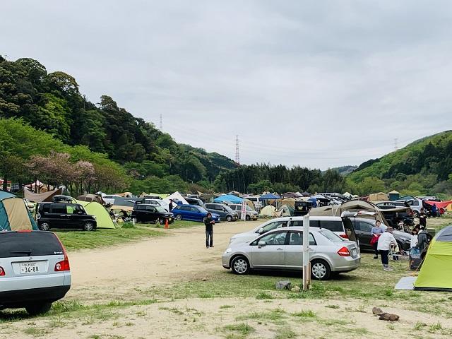 笠置キャンプ場雰囲気