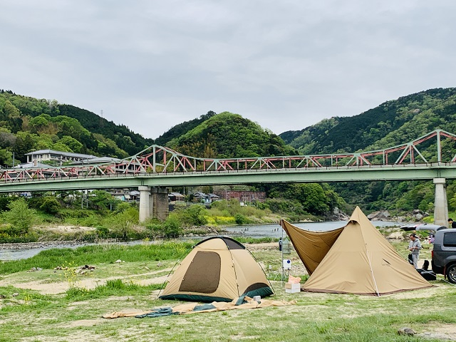 笠置キャンプ場