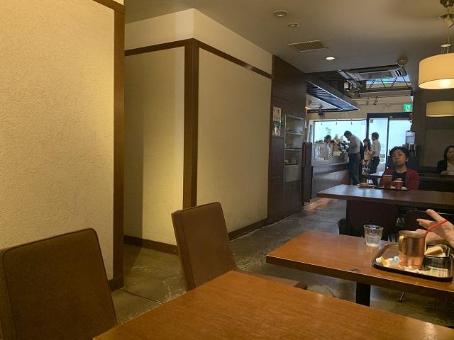 上島珈琲店 寺町店店内