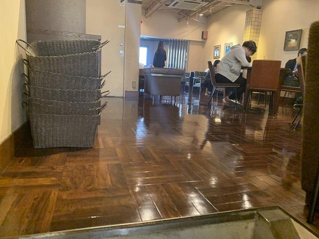 上島珈琲店 寺町店2階
