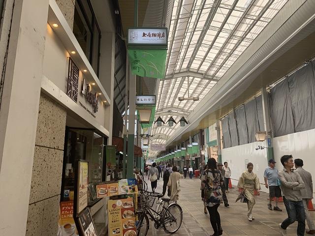 上島珈琲店 寺町店外観