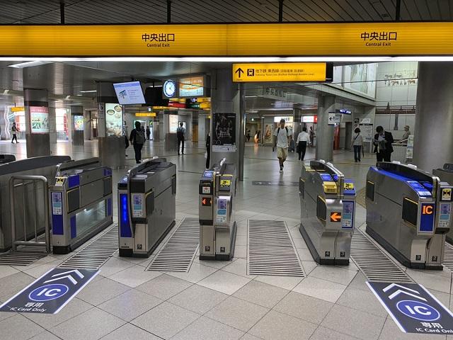 京阪三条駅中央出口