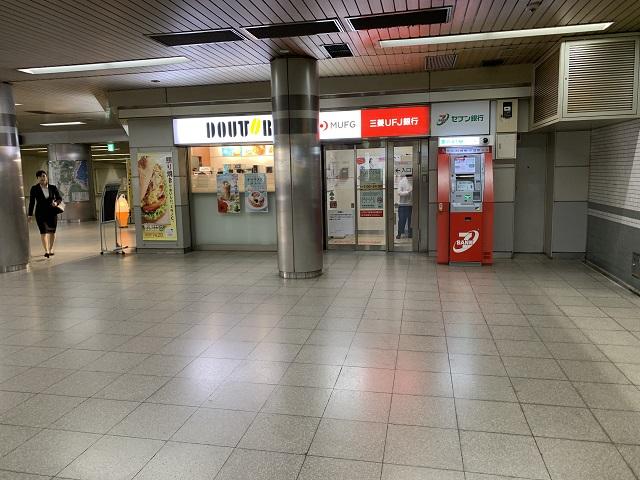 京阪三条駅ドトール前