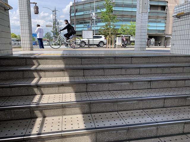 京阪三条駅地上