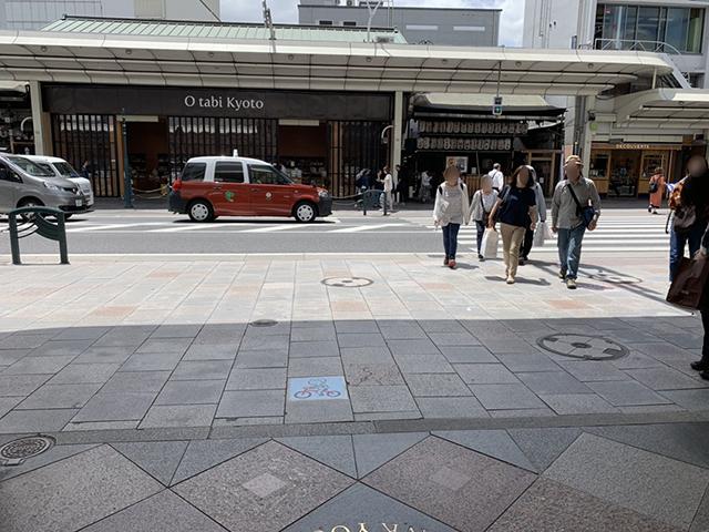 阪急河原町駅右折